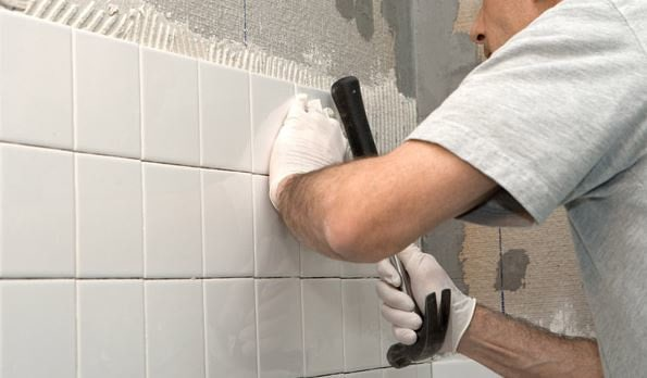 bathroom wall tiling